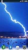 Screenshot of Lightning Storm Live Wallpaper