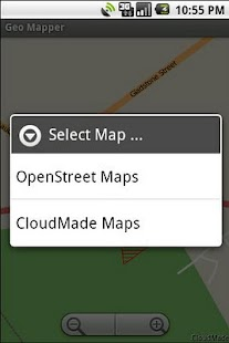 Geo Mapper - screenshot
