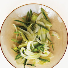Fennel, Sugar Snap Peas, and Tarragon