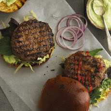 Saigon Burgers with Ginger Glaze and Thai Basil Mayo Recipe