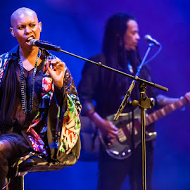 Skunk Anansie by Stéphane zOz - People Musicians & Entertainers ( music, concert, zoz, pop, singer, rock, spectacle, portrait, bass, festival, anansie, skunk, live )