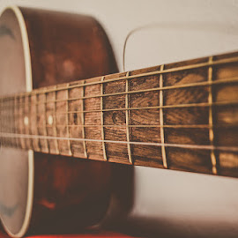 by Marijana Sekularac - Artistic Objects Musical Instruments ( music, love, musical instrument, wires, guitar )
