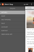 Screenshot of DMAX SHOP
