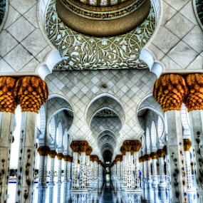 Sheikh Zayed Grand Mosque, Abu Dhabi by Mohamed Nasser - Buildings & Architecture Places of Worship ( mosque, sheikh zayed, uae, abu dhabi, architecture, panasonic,  )