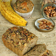 Fluffy Flax, Fruit, and Veggie Bread