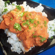 Smoky Paprika Chicken over Rice