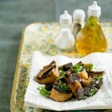 Mushrooms 'fish & Chips Style' With Posh Vinegar