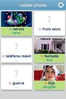 Screenshot of Learn Spanish - 3,400 words