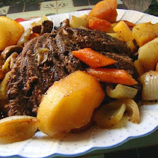 3 Hour Old Fashioned Oven Pot Roast