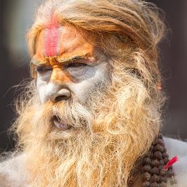 Baba ji by Dave Gurung - People Portraits of Men ( kathmandu, baba, nepali, baba ji, nepal )