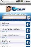 Screenshot of İsmail YK Şarkıları