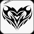 App Draw Tattoo Tribal APK for Kindle