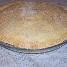 Pastry for Double-Crust Pie
