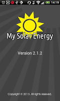Screenshot of My Solar Energy