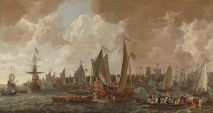 RIJKS: Lieve Pietersz. Verschuier: painting 1665