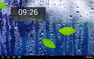 Screenshot of Rainy Day Live Wallpaper