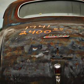 1941 Dodge by Lou Plummer - Transportation Automobiles ( car, texture, automobile, dodge, rust, 1941,  )