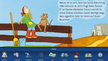 "Screenshot of Pixi ""Kasimirs Orchester"