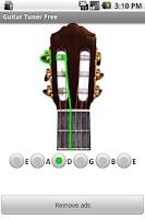 Screenshot of Guitar Tuner (Ad free)