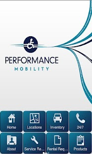Performance Mobility - screenshot