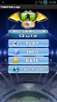 Screenshot of Football Quiz Logo