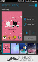 Screenshot of Sweet Kitty Atom Theme