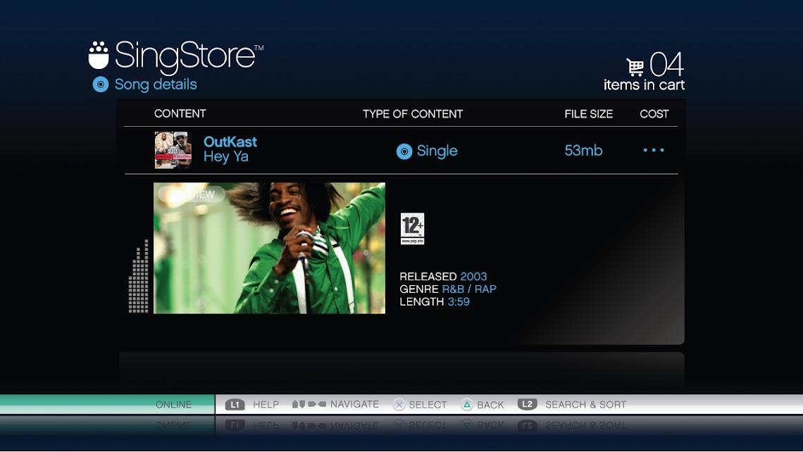 SingStar PS3 track list exposed