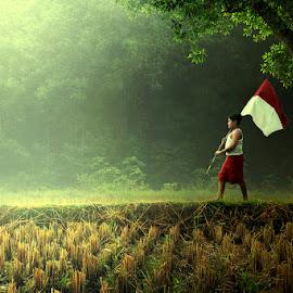 Songsong Indonesia Baru by Ipoenk Graphic - Digital Art People
