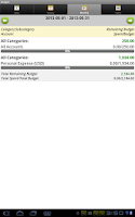 Screenshot of Expense Manager Pro