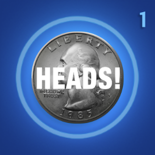 Heads or Tails : ANDROID WEAR - screenshot