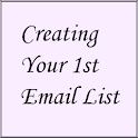 Creating Your 1st Email List icon