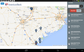 Screenshot of American Bank Mobile Banking