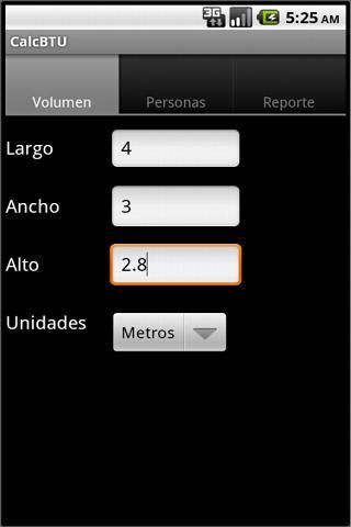Calculadora BTU