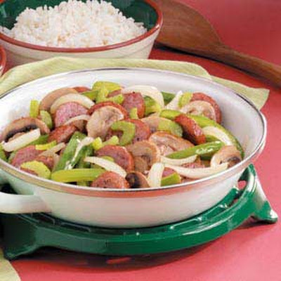 Maple Sausage Skillet