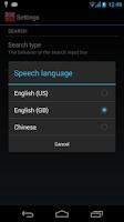 Screenshot of Offline English Chinese Dict.