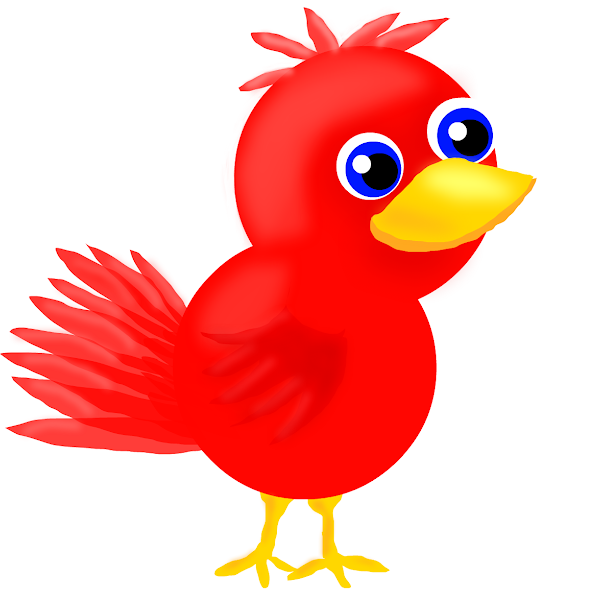 red bird  u00bb drawings  u00bb sketchport funny clipart of yoda funny clipart of animals