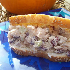 Crazy Craisins Chicken Salad