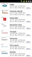 Screenshot of Shopping Clubs # Outlet-App