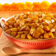 Tea-glazed Butternut Squash
