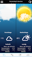 Screenshot of Weather for Germany