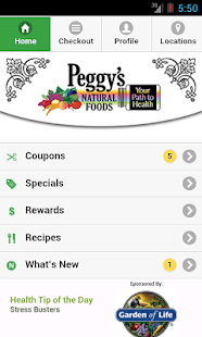 Peggy's Natural Foods - screenshot