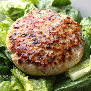 Swordfish Burgers with Lemon Vinaigrette