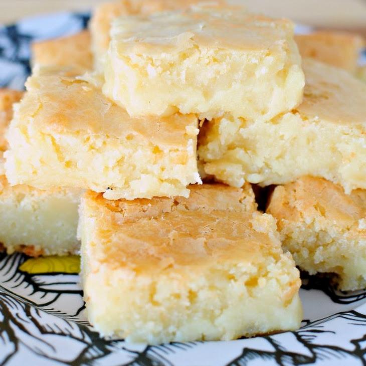 Fudgy White Chocolate Brownies Recipe | Yummly