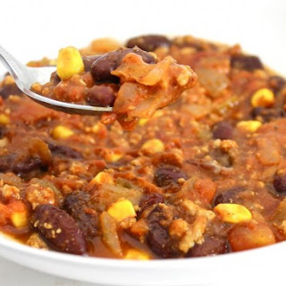 Skinny Turkey Taco Chili (Crock-pot or Stovetop)