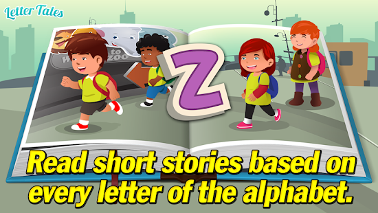 Letter Tales - Learn to Read - screenshot