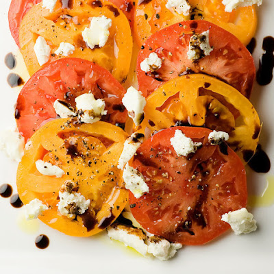 Tomato Goat Cheese Salad
