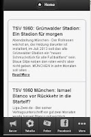 Screenshot of 1860 Fan app