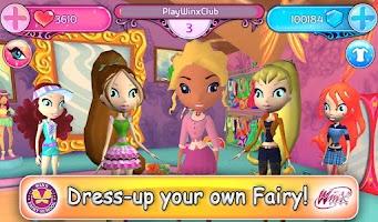 Screenshot of Winx Fairy School Lite
