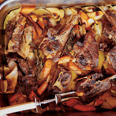 Roasted Lamb Shoulder (Agnello de Latte Arrosto)