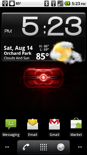 Droid 2 Eye Live Wallpaper